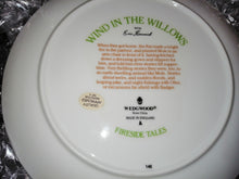 Wind in the Willows Wedgewood Collectable plates