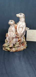 Paka Meerkats From the Earth Figurine Ann Richmond  #FromtheEarth RETROSHEEP.COM