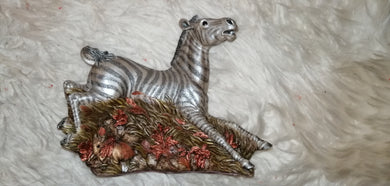 PUNDA MILIA - ZEBRA From the Earth Figurine Ann Richmond  #FromtheEarth