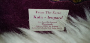Kala Leopard From the Earth Figurine Ann Richmond  #FromtheEarth