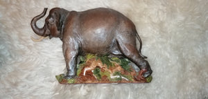 Hathi Indian Elephant From the Earth Figurine Ann Richmond  #FromtheEarth