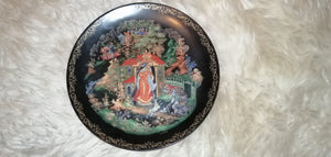 Princess and The Seven Bogatyrs Decorative Plate Russian USSR