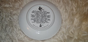 Ruslyn and Ludmila Russian USSR Decorative plate