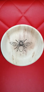 Worker Bee  Palm Leaf Bowl
