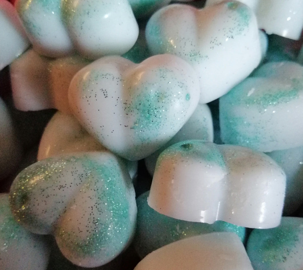 Sea Spray Ocean Breeze Limited Edition Sparkle Scented Soy Wax Candle Tart Love Hearts