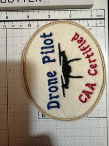 Drone Pilot CAA Certified Patch