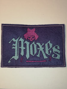 Cyberpunk Moxes Gang Patch Punk Patch by Retrosheep