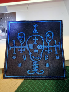Cyberpunk Voodoo Boys Gang Patch #Cyberpunk