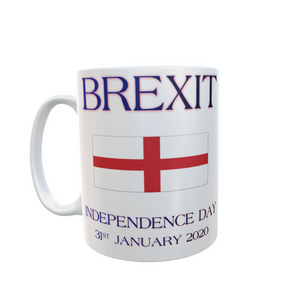 Independence Day Brexit England Mug Tea Coffee Mugs #Brexit #IndependenceDay #GetBrexitDone