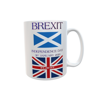 Independence Day Brexit Scotland Mug Tea Coffee Mugs #Brexit #IndependenceDay #GetBrexitDone
