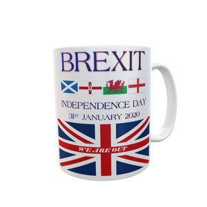 Independence Day Brexit Mug UK's Exit from the European Union Tea Coffee Mugs #Brexit