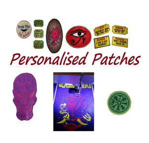 Personalised Embriodered Patch Iron On Patches #Patch