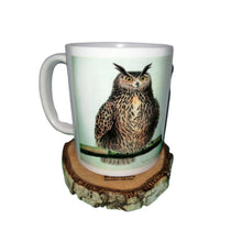 Eagle Owl Mug Vintage illustration Bird Tea Coffee Mugs #EagleOwl