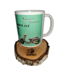 Vespa GT Mug Vintage Classic Moped Scooter Tea Coffee Mugs #Vespa