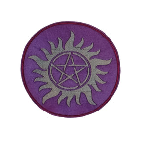 Pentagram Protection Symbol Celtic Pagan Iron On Patch #Supernatural