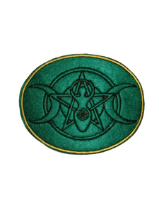 Triple Goddess Fertility Symbol Celtic Pagan Iron On Patch #TripleGoddess
