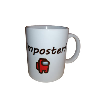 Among Us Impostor Mug By Retrosheep.com