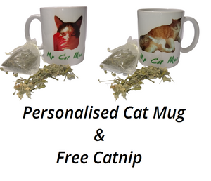 Cat Mug - Personalised Mugs Free Catnip #Cats