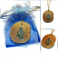 Blue Baptista Flowers From The Purge Handmade Necklace #Purge