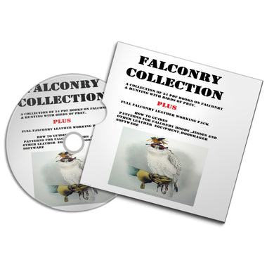 Falconry Hawking Collection Hunting Books Patterns Templates Hoods Jesse's #falconry