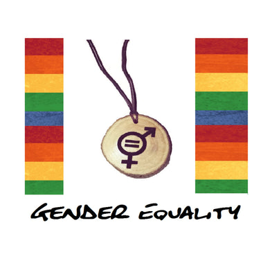 Gender Equality Symbol Handmade Wood Necklace Earrings Keyring #GenderEquality