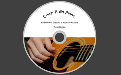 Build Your Own Guitar Electric Acoustic Designs Plans Gibson Fender Jackson And More #guitar
