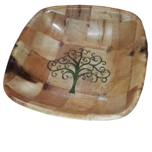 Yggdrasil Norse Viking Tree of Life Bamboo Basket Bowl #yggdrasil