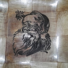 Father Christmas Santa Serving Bowl Home Table Decor Basket Bowl #Santa