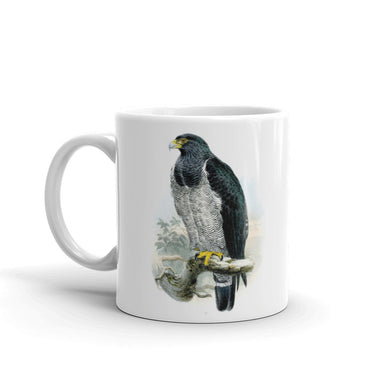 Barred Hawk Mug Vintage Illustration Tea Coffee mugs #BarredHawk