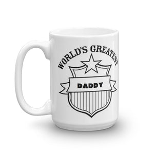 Worlds Greatest Daddy Mug Quote Coffee Mugs Gift #Daddy