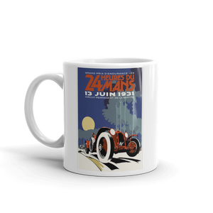 Alfa Romeo Mug Le Mans Vintage Classic Car Tea Coffee Mugs #LeMans