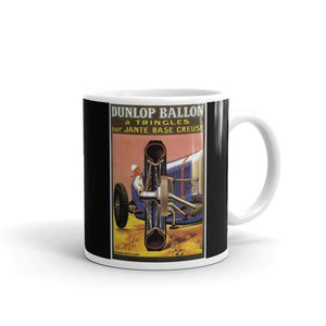 1922 Dunlop Tyres Mug Vintage Classic Car Advert Tea Coffee Mugs #Dunlop