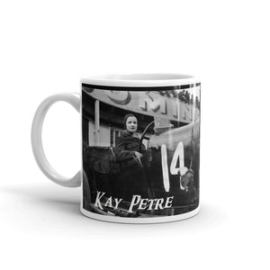 Kay Petre Mug Vintage Womens Rally Driver Coffee Mugs #WomensRally