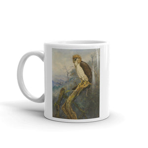 Monkey eating Eagle Mug Vintage Art Illustration Tea Coffee Mugs #Eagle