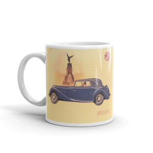 Mg Tickford Mug 2Ltr Vintage Classic Car Advertising Tea Coffee Mugs #MG