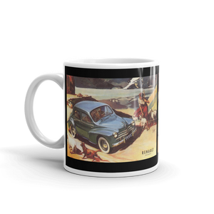 Renault 4 CV Mug Classic Car Tea Coffee Mugs #Renault