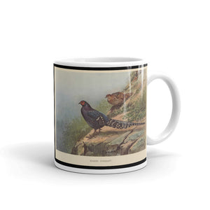 Mikado Pheasant Mug Vintage Illustration Tea Coffee Mugs # Pheasant