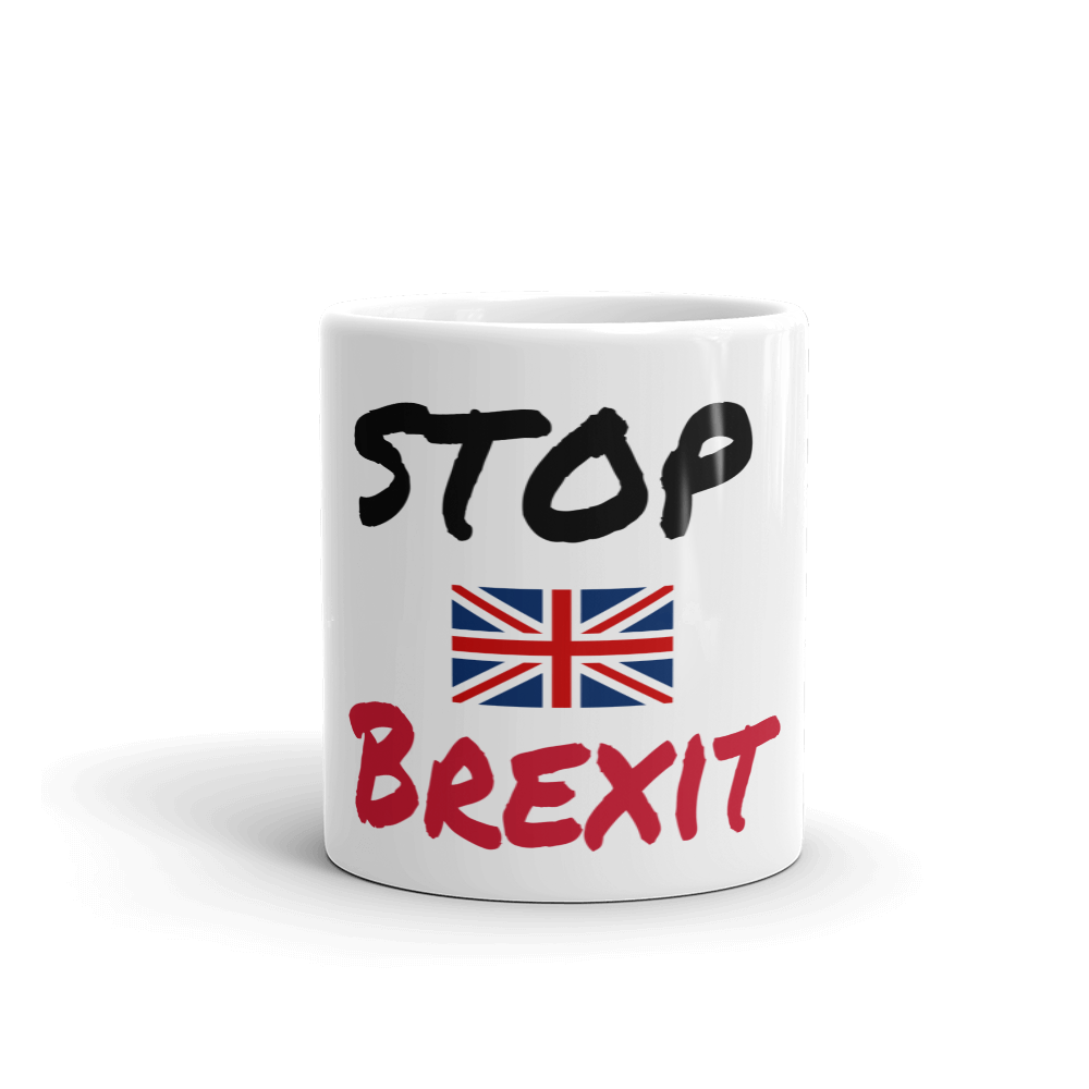 Anti Brexit Mug Stop Brexit Tea Coffee Mugs #Brexit #StopBrexit