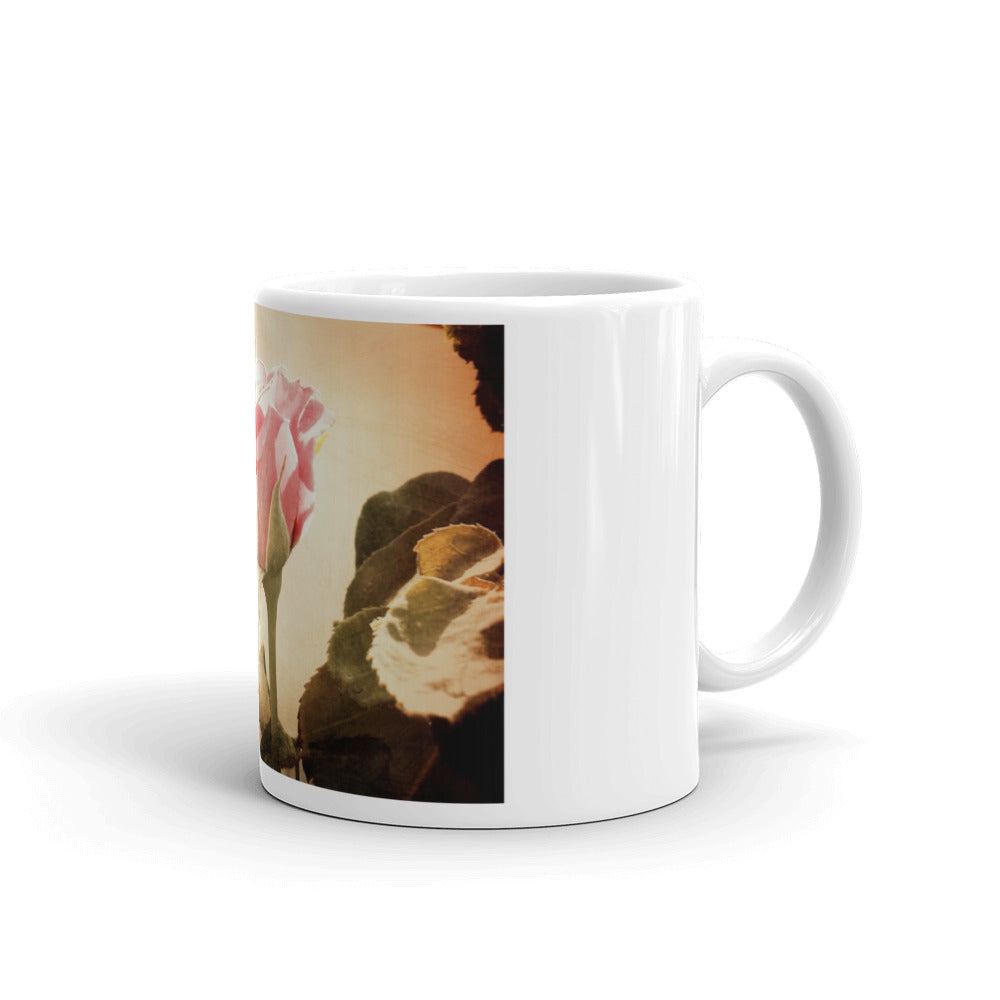 Happy Birthday Mum Pink Rose Mug #Mum