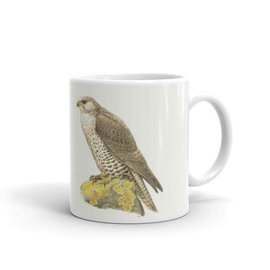 Gyrfalcon Mug Vintage Falcon Art Illustration Tea Coffee Mugs #Gyrfalcon