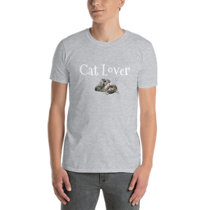 Cat Lover Short-Sleeve Unisex T-Shirt Tee #Cats #CatLover