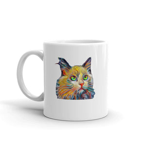 Rainbow Maine Coon Cat Mug Cat Mug Coffee Mugs Tea Cup Gifts #Cats