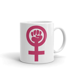 Feminist Mug Feminism Power symbol Coffee Mugs #Feminist