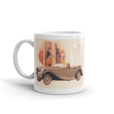 MG Mug 2Ltr Tourer Vintage Classic Car Advert Coffee Mugs #MG