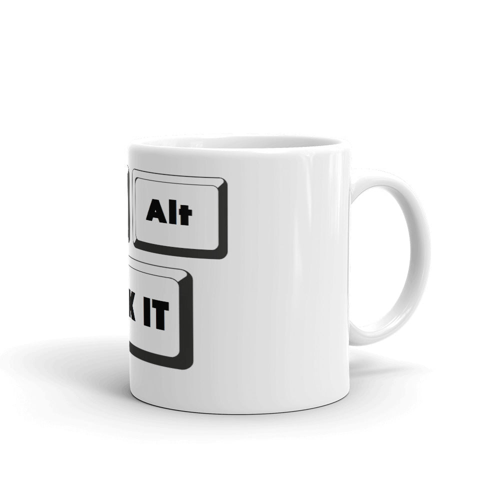 CTRL ALT DEL FUCK IT Mug Funny Joke Coffee Mugs Tea Cups #FunnyMugs