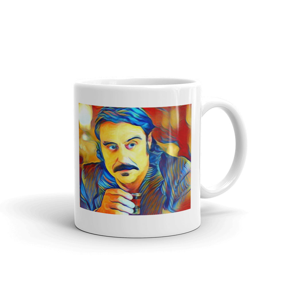 Deadwood Al Swearengen Pop Art Tea Coffee Mugs #Deadwood