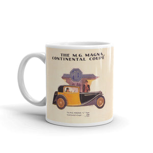 Mg Magna Mug L Type Continental Coupe Classic Car Mugs #MG