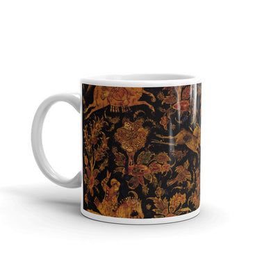 Hunting Scene Mug Vintage illustration tea Coffee Mugs #Hunting