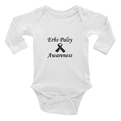 Erbs Palsy Awareness Baby Grow All in One Childs Unisex Infant Long Sleeve Bodysuit #ErbsPalsy