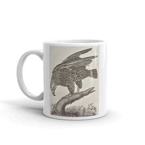 Golden Eagle Mug Vintage Illustration Tea Coffee Mugs #GoldenEagle